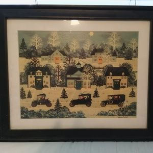 Other - Jane Wooster Scott signed print - The Party's Over